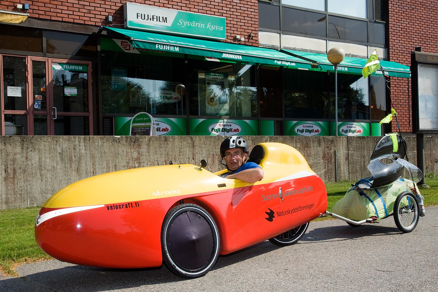 Urpo Taskinen velomobil