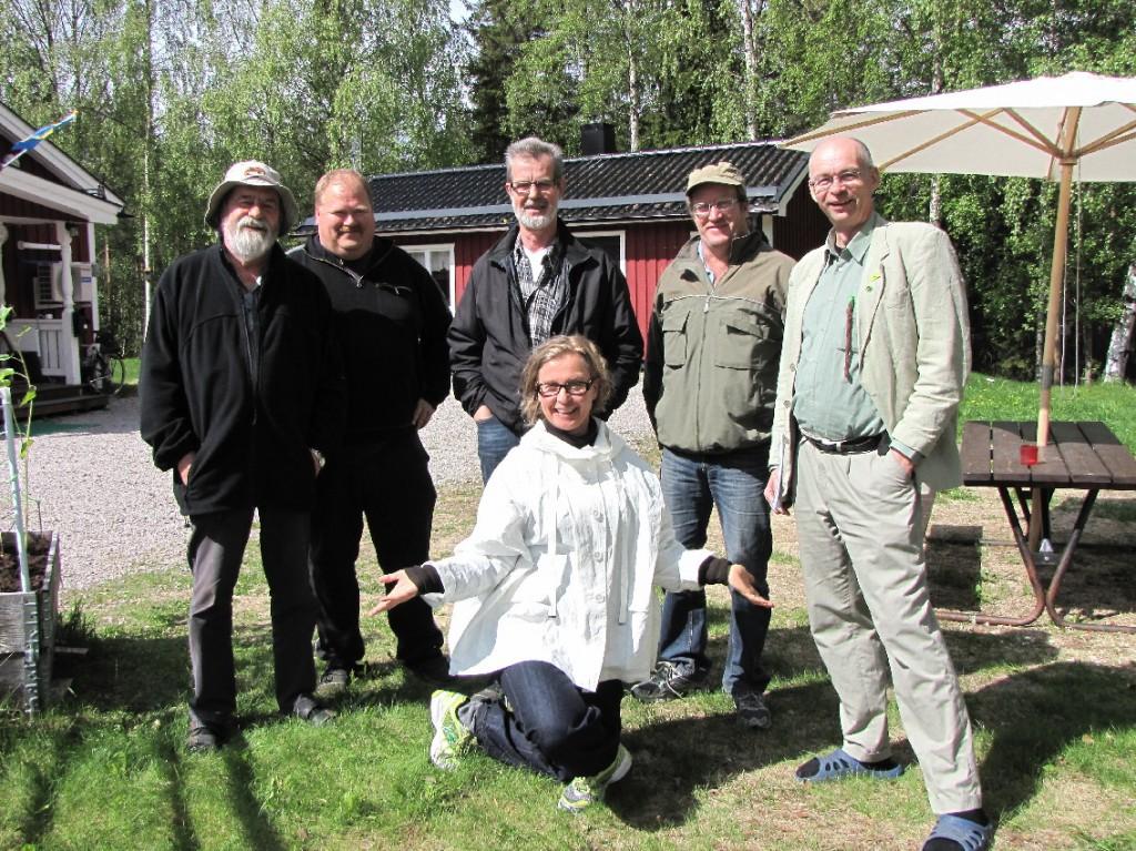 Klimatkursen på Raabgården i Nybyn, utanför Överkalix. Foto Ziska Scemes