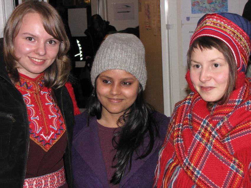Deltagare från tre länder på Jokkmokk Winter Conference 2010. Foto Urpo Taskinen