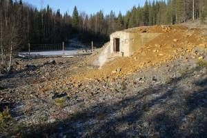 Nedlagda gruvan i Laver