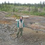 Nautanen övergivna gruvfält med miljöskador efter 100 år